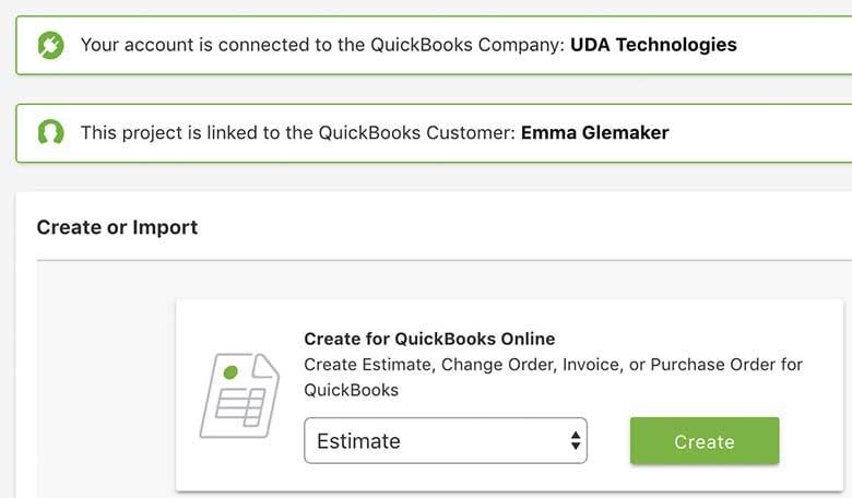 Construction Accounting Integration Software - UDA