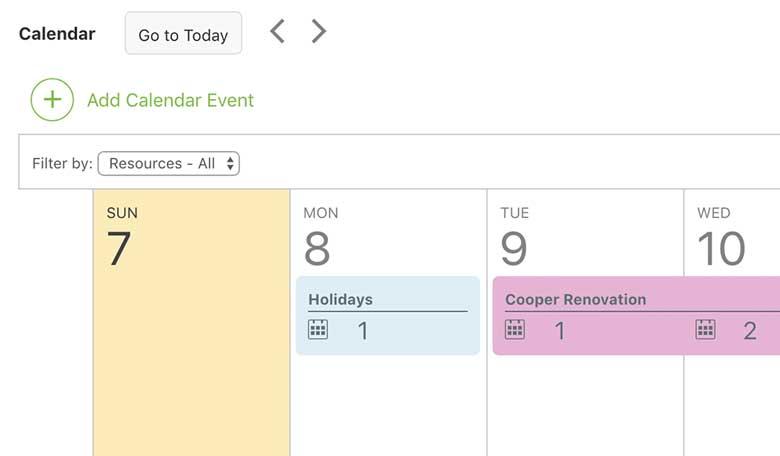 Construction Calendar Software 4