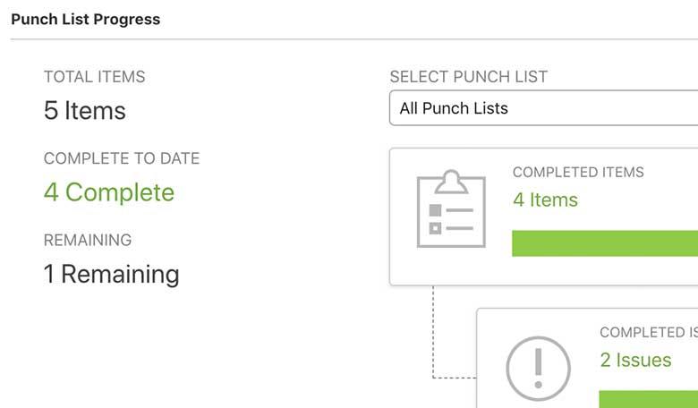 Construction Punch List Software 1