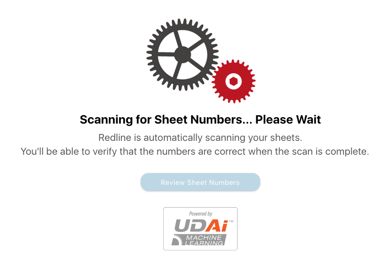 Automated sheet scanning with UDAi™ machine learning
