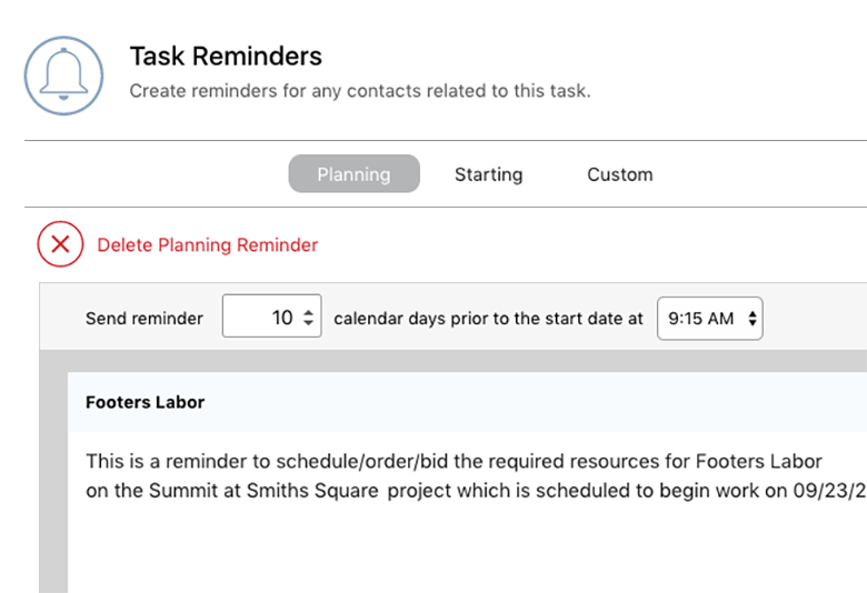 Scheduling Software Resources and Reminders