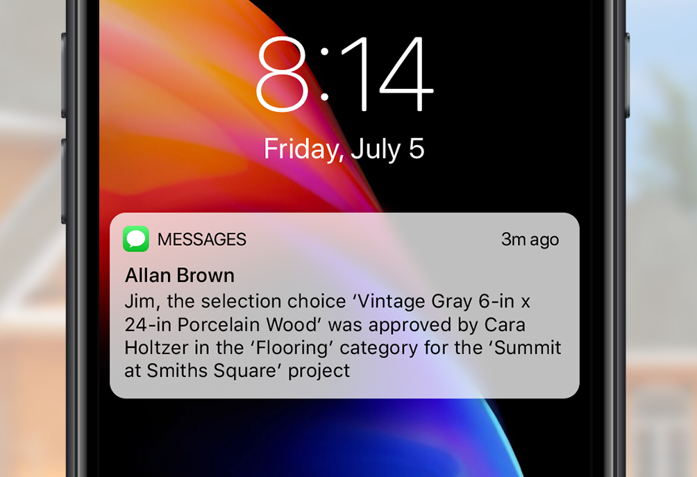 Automated Selections Emails and Texts