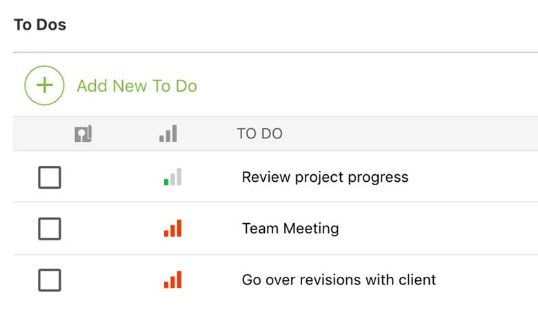 Construction To Do List Software 2